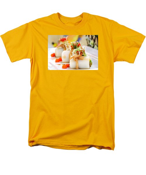Traditional Chinese Hakka Rice Noodle Roll Men's T-Shirt  (Regular Fit) by Yali Shi