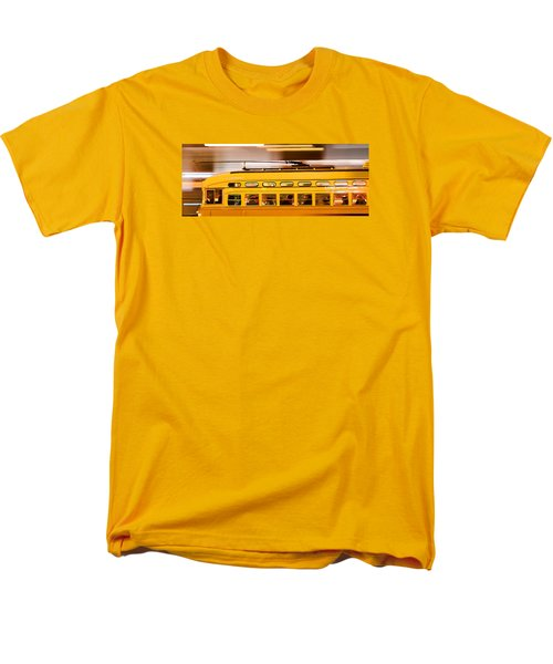 Trolley 1052 On The Move Men's T-Shirt  (Regular Fit) by Steve Siri