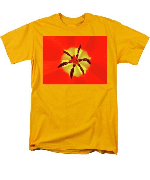 Tulip Men's T-Shirt  (Regular Fit)