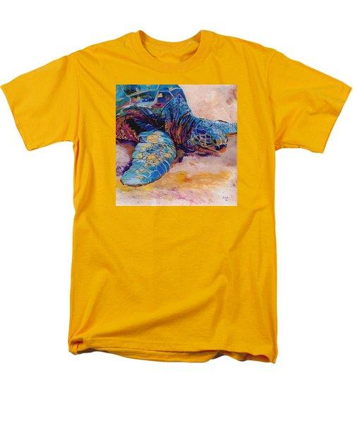 Turtle At Poipu Beach 6 Men's T-Shirt  (Regular Fit) by Marionette Taboniar