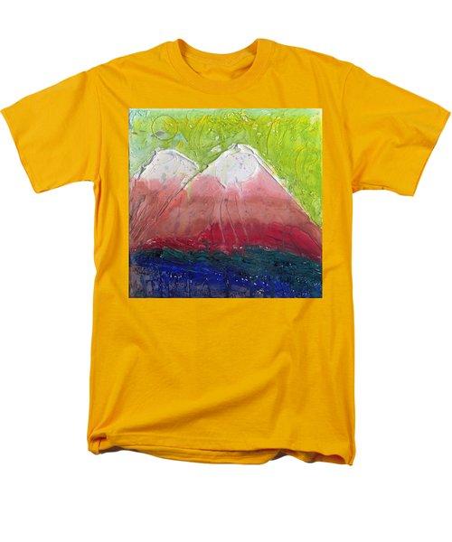 Twin Peaks II Men's T-Shirt  (Regular Fit)