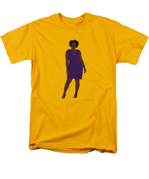 Men's T-Shirt  (Regular Fit) featuring the digital art Vanessa by Nancy Levan