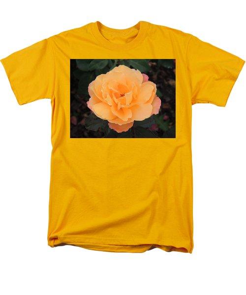 Velvety Orange Rose Men's T-Shirt  (Regular Fit) by Teresa Schomig