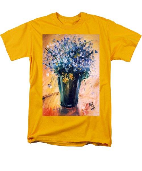 Violets Men's T-Shirt  (Regular Fit) by Mikhail Zarovny