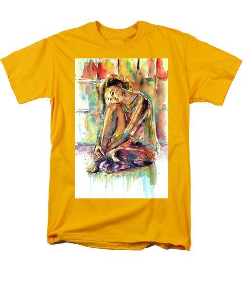 Waiting For You Men's T-Shirt  (Regular Fit) by Kovacs Anna Brigitta
