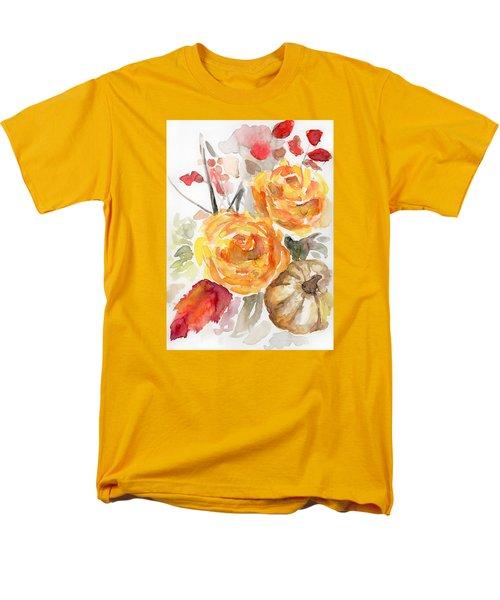 Warm Autumn Men's T-Shirt  (Regular Fit) by Arleana Holtzmann