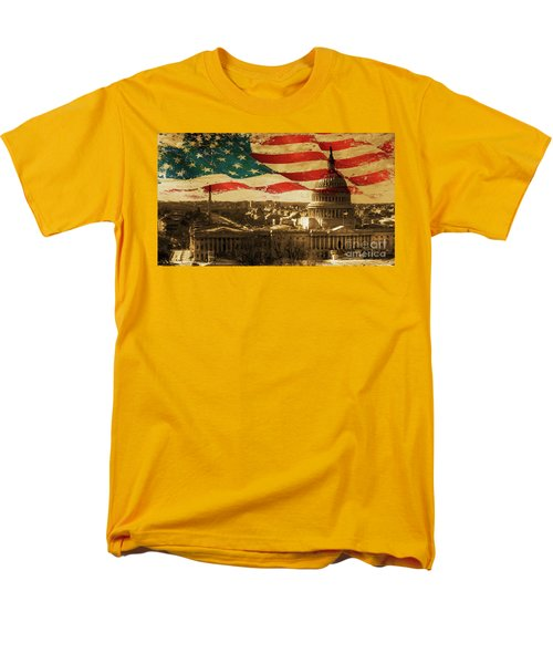 Washington Dc Usa 002 Men's T-Shirt  (Regular Fit) by Gull G