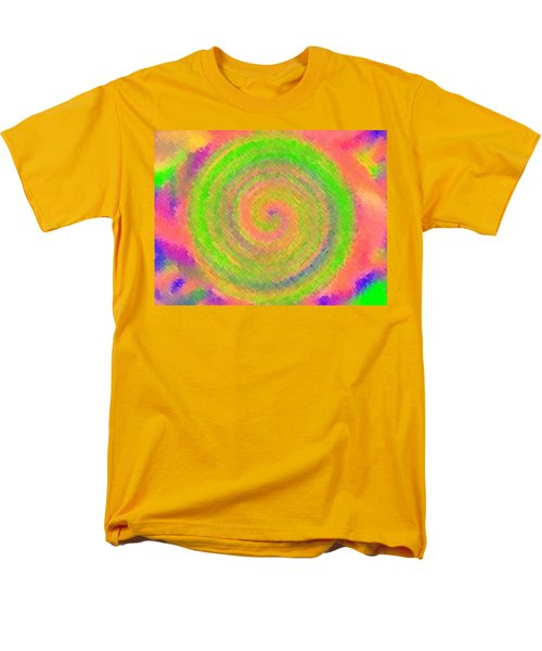 Men's T-Shirt  (Regular Fit) featuring the digital art Water Melon Whirls by Catherine Lott