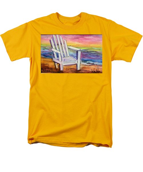 Watercolor White Chair Men's T-Shirt  (Regular Fit)