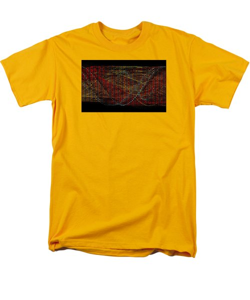Abstract Visuals - Wavelengths Men's T-Shirt  (Regular Fit) by Charmaine Zoe