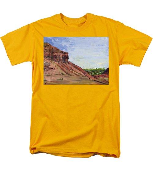 Weber Sandstone Men's T-Shirt  (Regular Fit)