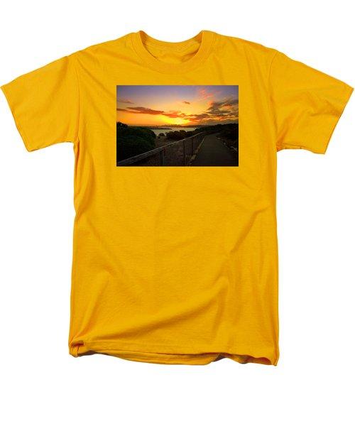 Men's T-Shirt  (Regular Fit) featuring the photograph While You Walk by Miroslava Jurcik