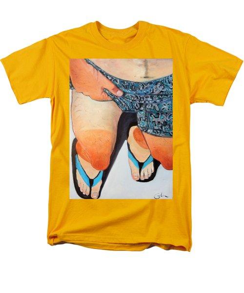 White Man's Burden Men's T-Shirt  (Regular Fit) by Gary Coleman