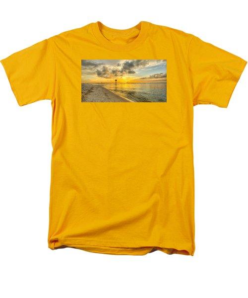 Wiggins Pass State Park Men's T-Shirt  (Regular Fit) by Sean Allen