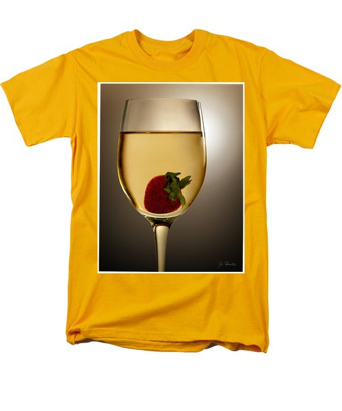 Men's T-Shirt  (Regular Fit) featuring the photograph Wild Strawberry by Joe Bonita