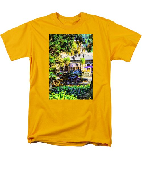 Men's T-Shirt  (Regular Fit) featuring the photograph Wine Wagon by Rick Bragan