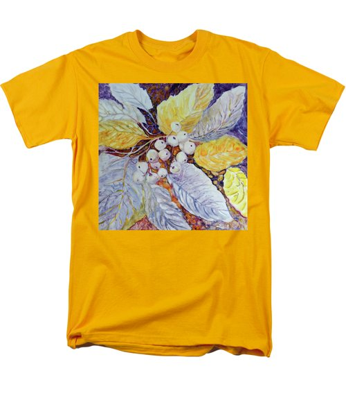 Men's T-Shirt  (Regular Fit) featuring the painting Winter Berries by Joanne Smoley