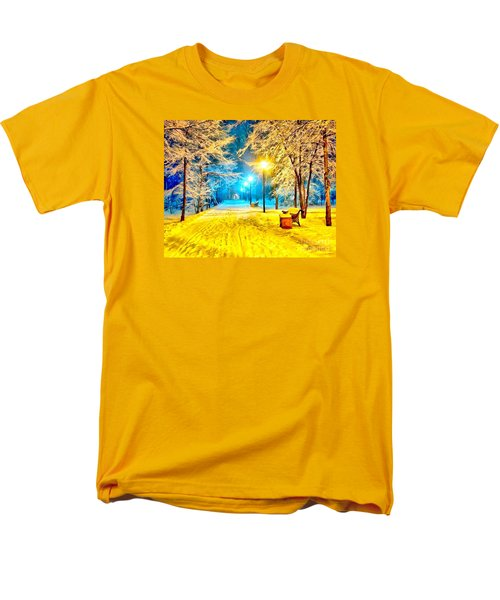 Winter Street Men's T-Shirt  (Regular Fit) by Catherine Lott