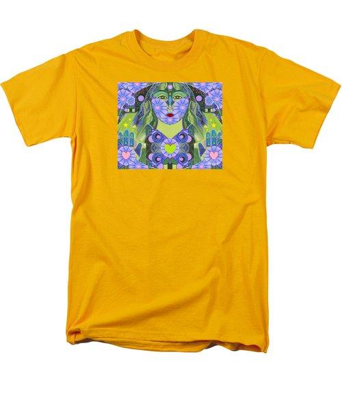 Wisdom Rising Men's T-Shirt  (Regular Fit) by Helena Tiainen