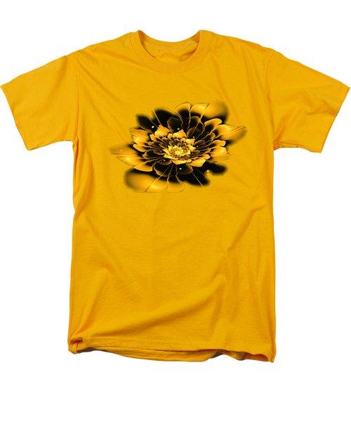 Yellow Flower Men's T-Shirt  (Regular Fit) by Anastasiya Malakhova