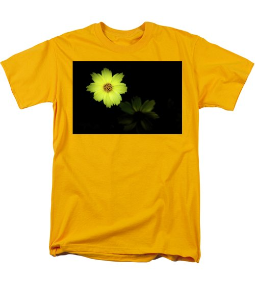 Yellow Flower Men's T-Shirt  (Regular Fit) by Jay Stockhaus