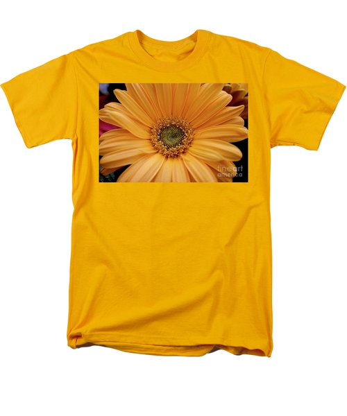 Yellow Gerbera Daisy Men's T-Shirt  (Regular Fit) by Ivete Basso Photography