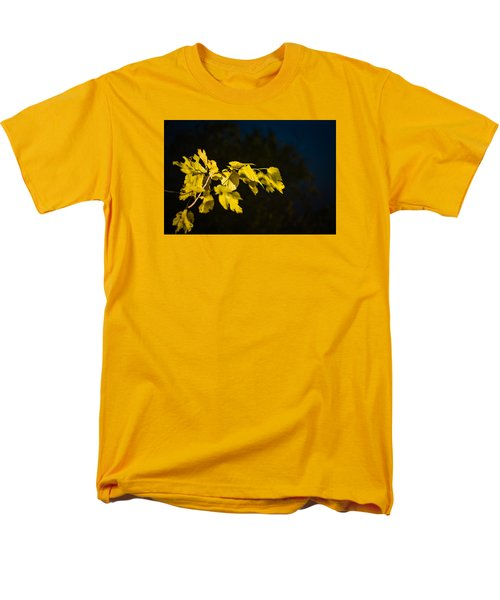 Men's T-Shirt  (Regular Fit) featuring the photograph Yellow Leaves by Randy Bayne