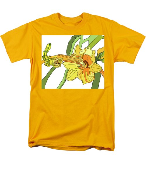 Yellow Lily And Bud, Graphic Men's T-Shirt  (Regular Fit) by Jamie Downs