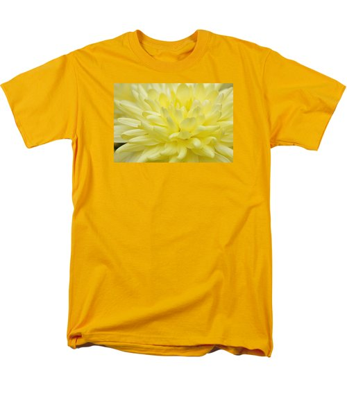 Yellow Mum Men's T-Shirt  (Regular Fit) by Jim Gillen