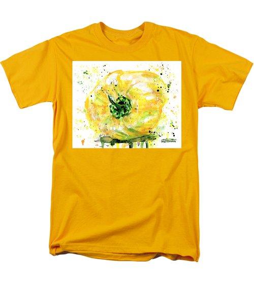Yellow Pepper Men's T-Shirt  (Regular Fit) by Arleana Holtzmann