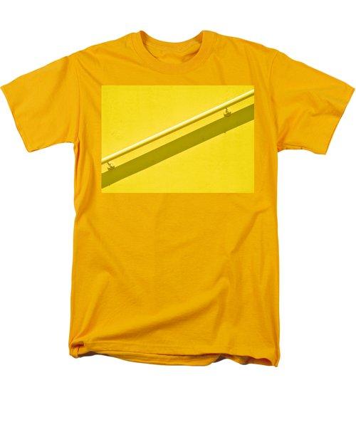 Yellow Rail Men's T-Shirt  (Regular Fit) by Josephine Buschman