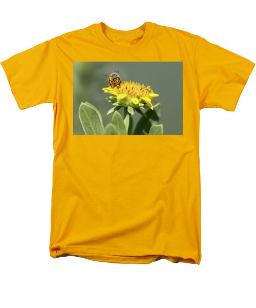 Yumm Pollen Men's T-Shirt  (Regular Fit) by Christopher L Thomley