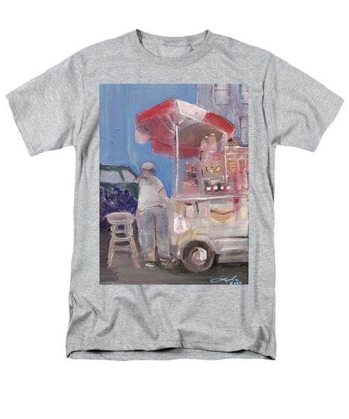 Stand On The Corner Men's T-Shirt  (Regular Fit) by Leela Payne
