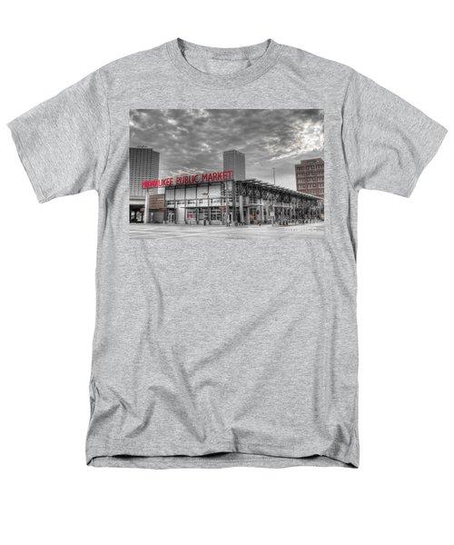 0038 Milwaukee Public Market Men's T-Shirt  (Regular Fit) by Steve Sturgill