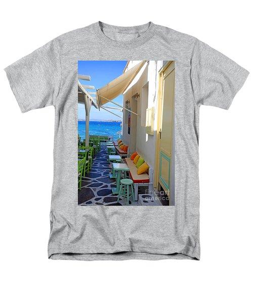 0560 Mykonos Greece Men's T-Shirt  (Regular Fit) by Steve Sturgill