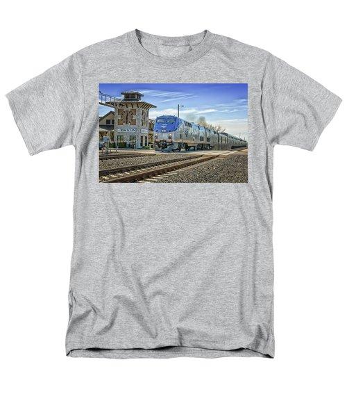 Amtrak 112 Men's T-Shirt  (Regular Fit) by Jim Thompson