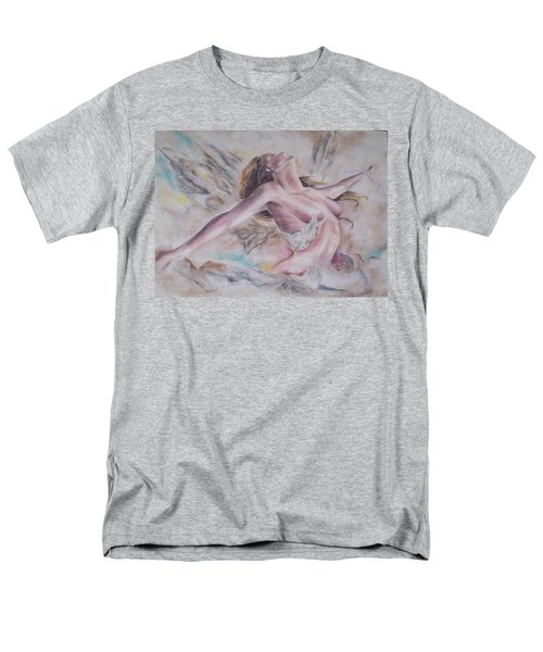 Men's T-Shirt  (Regular Fit) featuring the pastel Angel Burst by Peter Suhocke