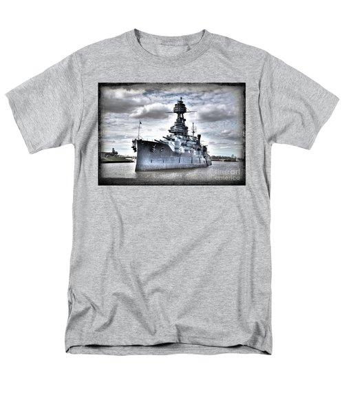 Battleship Texas Men's T-Shirt  (Regular Fit) by Savannah Gibbs