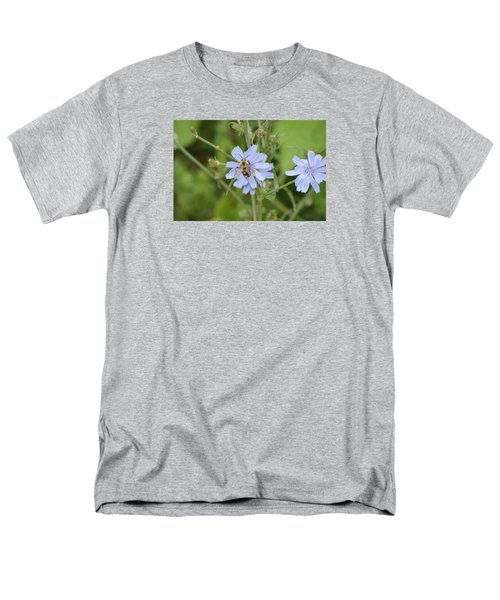 Men's T-Shirt  (Regular Fit) featuring the photograph Bumble Bee by Heidi Poulin