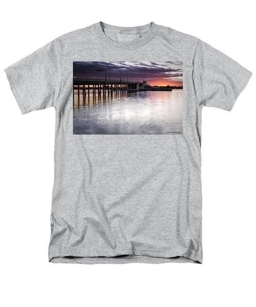 Drawbridge At Sunset Men's T-Shirt  (Regular Fit) by Fran Gallogly