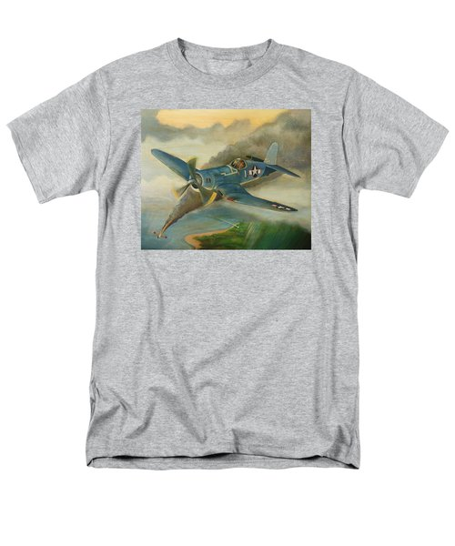 F4u Corsair Men's T-Shirt  (Regular Fit) by Stuart Swartz