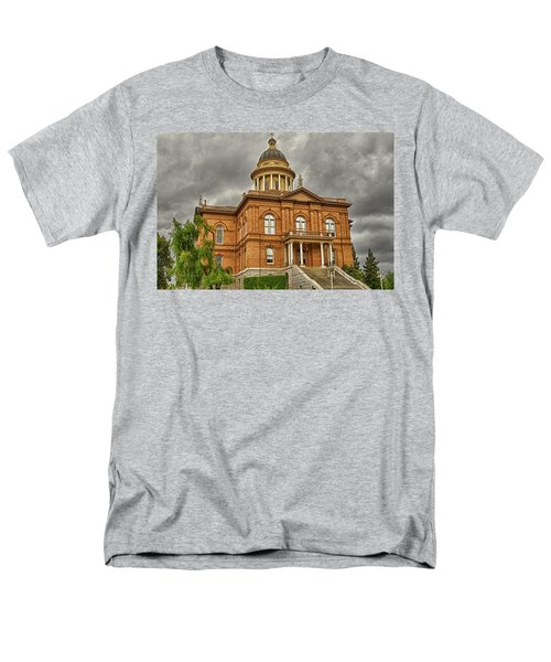 Historic Placer County Courthouse Men's T-Shirt  (Regular Fit) by Jim Thompson