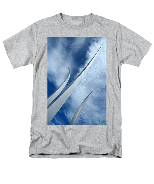 Men's T-Shirt  (Regular Fit) featuring the photograph Into The Clouds by Cora Wandel