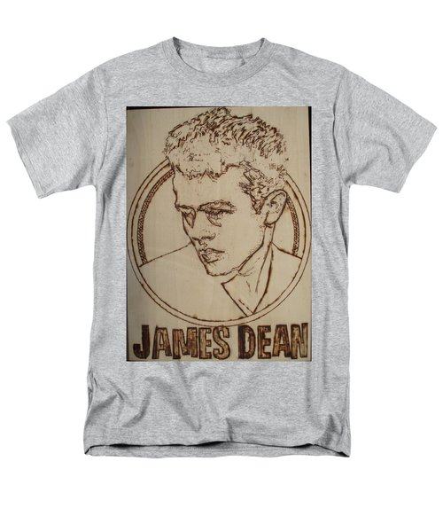 James Dean Men's T-Shirt  (Regular Fit) by Sean Connolly