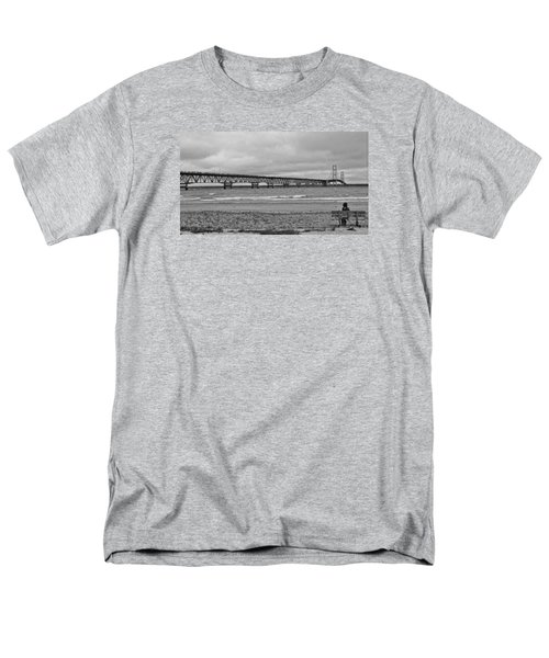 Looking North Men's T-Shirt  (Regular Fit) by Daniel Thompson