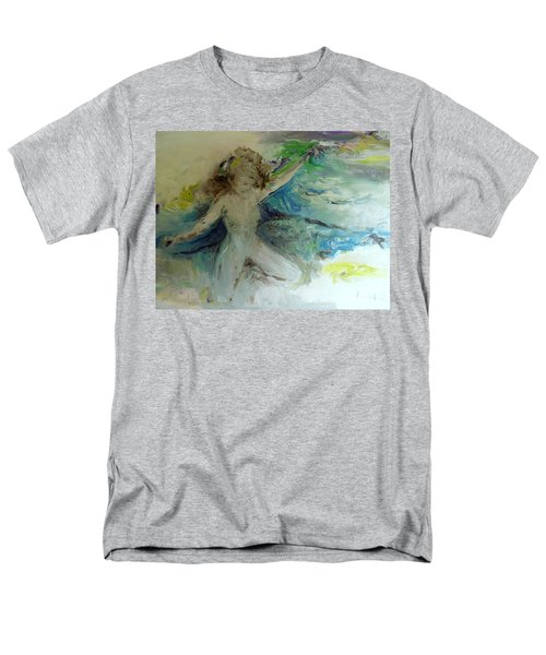 Men's T-Shirt  (Regular Fit) featuring the painting My Vagina by Laurie L