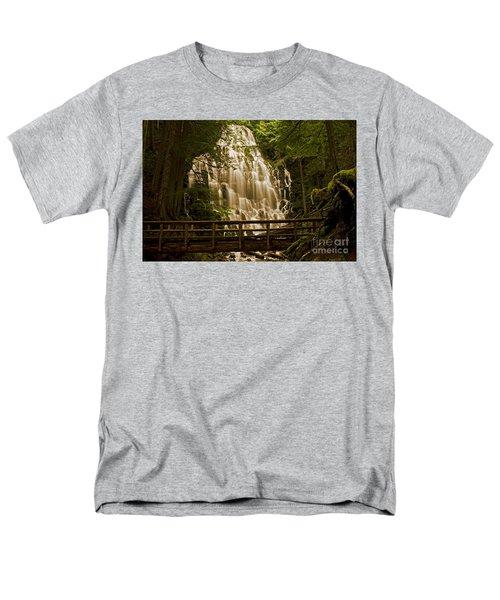Ramona Falls Men's T-Shirt  (Regular Fit) by Nick  Boren