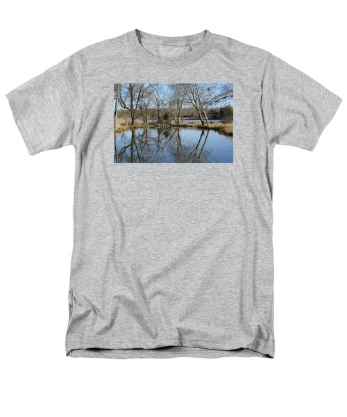 Men's T-Shirt  (Regular Fit) featuring the photograph Reflection by Heidi Poulin