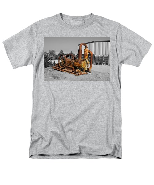 Retired Petroleum Pump Men's T-Shirt  (Regular Fit) by Richard J Cassato