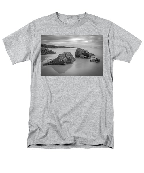 Men's T-Shirt  (Regular Fit) featuring the photograph Seselle Beach Galicia Spain by Pablo Avanzini